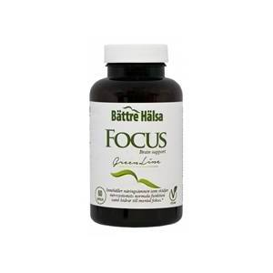 Bättre hälsa Focus Brain Boost 60 kapselia