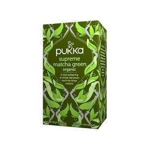 Pukka Te Supreme Matcha Green 20 pussia