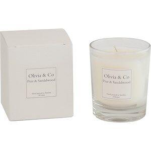 Olivia & Co Room Fragrance Tuoksukynttilät Pear & Sandalwood Small 1 Stk.