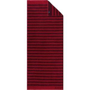 JOOP! Pyyhkeet Classic Stripes Saunapyyhe Rubiini 80 x 200 cm 1 Stk.