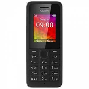 Nokia 106 - Tehdaskunnostus - Musta