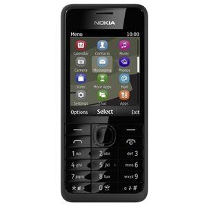 Nokia 301 - Tehdaskunnostus - Musta