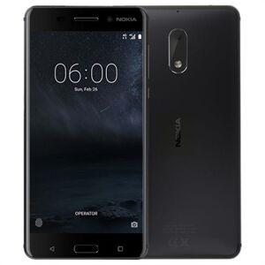 Nokia 6 - 32Gt - Tehdaskunnostus - Musta