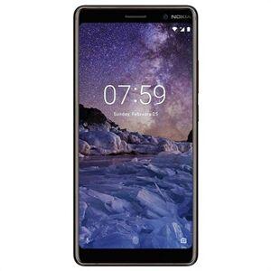 Nokia 7 Plus - 64Gt - Tehdaskunnostus - Musta / Kupari