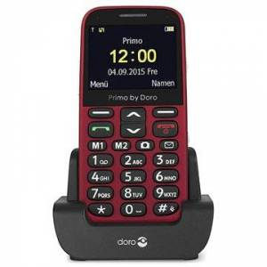 Doro Primo 366 - 0.3MP, FM Radio, Bluetooth - Punainen