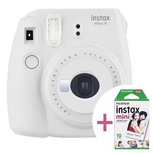 Fujifilm Instax Mini 9 Pikakamera Filmillä - Savuvalkoinen
