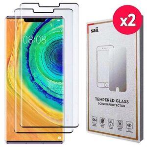 Saii 3D Premium Huawei Mate 30 Pro Panssarilasi - 9H, 2 Kpl. - Musta