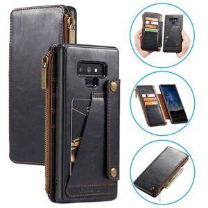 Caseme Business 2-in-1 Samsung Galaxy Note9 Lompakkokotelo - Musta