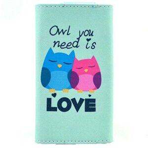 MTP Products Yleiskäyttöinen Tyylikäs Lompakkokotelo - L - Owl You Need Is Love