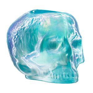 Kosta Boda Still Life Skull Kynttilälyhty, Vaaleansininen