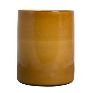 By On Calore Vase/Candle Holder L, Amber