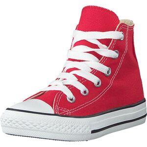 Converse Chuck Taylor All Star Hi Kids Red, Kengät, Sneakerit ja urheilukengät, Korkeavartiset tennarit, Punainen, Lapset, 27