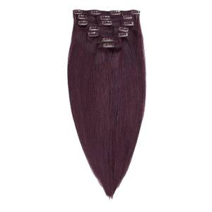Rapunzel® Aidot hiustenpidennykset Clip-on Pidennykset Original 7 pieces 6.12 Dark Mahogany Brown 50 cm