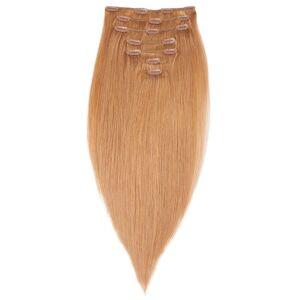 Rapunzel® Aidot hiustenpidennykset Clip-on Pidennykset Premium 7 pieces 7.4 Medium Golden Blonde 50 cm