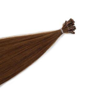 Rapunzel® Aidot hiustenpidennykset Sinettipidennykset Original Suora 5.4 Copper Brown 50 cm