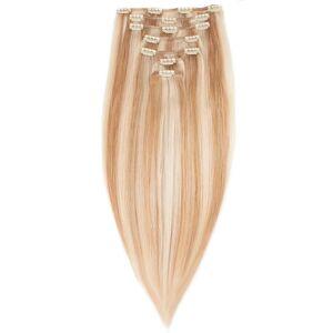 Rapunzel® Aidot hiustenpidennykset Clip-on Pidennykset Premium 7 pieces M7.5/10.8 Scandinavian Blonde 50 cm