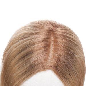 Rapunzel® Aidot hiustenpidennykset Top Piece Original Suora R7.5/8.3 Ash Brown Honey Blonde 30 cm