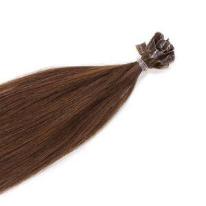 Rapunzel® Aidot hiustenpidennykset Sinettipidennykset Premium Suora 5.0 Brown 50 cm