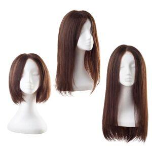 Rapunzel® Peruukit Lace -peruukki Aitoa hiusta 2.3 Chocolate Brown 30 cm