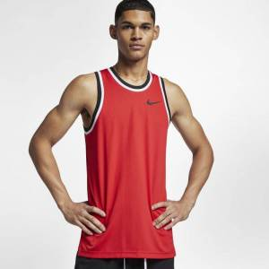 "Nike ""Nike Dri-FIT Classic Men's Basketball Jersey - Red"""