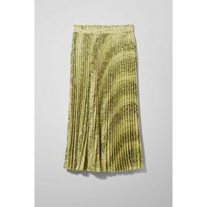 Valentin Pleated Skirt - Yellow-38