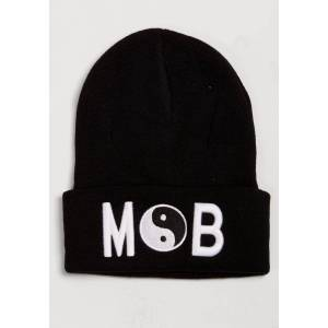 Mob Beanie In Black