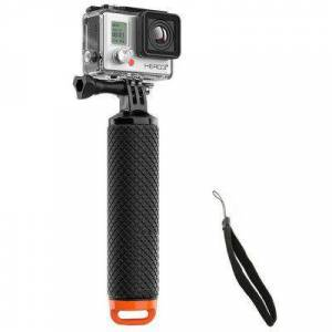 Gearbest Waterproof Floating Bobber Handle Grip Floaty Pole Slefie Stick with Strap for GoPro / YI Action Camera
