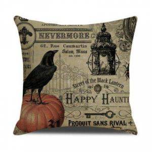 Gearbest Printed Pillow Case Cafe Home Decor Sofa Car Halloween Skull Cushion Covers