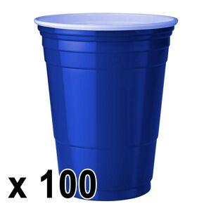 StudyShop 100 kpl. Blue Cups Mukit (473 ml./16 Oz.)