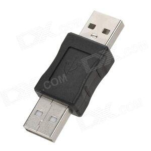 USB 2.0 uros-uros sovitin - musta