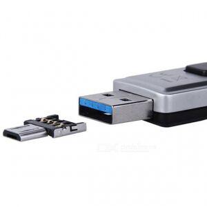 USB 2.0 micro USB OTG-sovitin muunnin Android-puhelimille