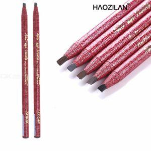 Waterproof Silk Women Pull Eye Brow Pen Cosmetic Makeup Tool Long Lasting Paint Eyebrow Pencil A118