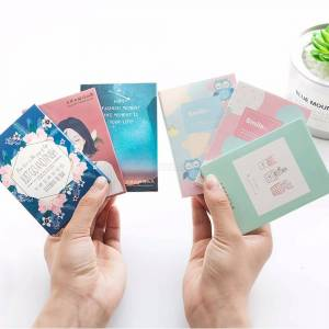 50PCS Oil Blotting Sheets Absorbent Facial Sucking Oil Control Face Paper Matting Tissues Skin Care Random Color
