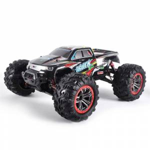 Suuri Koko 1: 10 Dual-moottori RC Tela 4WD Nopea 46 Km / H 2.4G Kaukosdin Maastossa Monsteriauto Auto