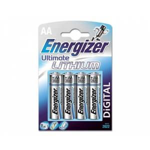Energizer Battery Ultimate Lithium Aa/lr6 4-pack