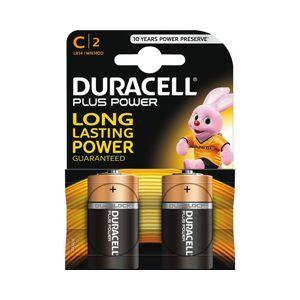 Duracell Plus Power C 2 Kpl