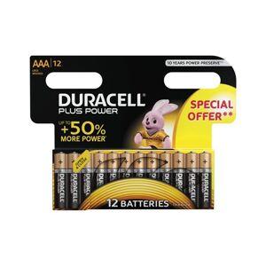 Duracell Paristo Plus Power Aaa 12 Kpl