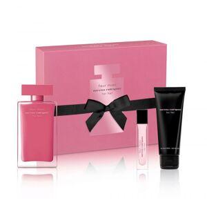 Narciso Rodrigues For Her Fleur Musc EDP 100 ml + Bodylotion 75 ml + EDP 10 ml Giftset