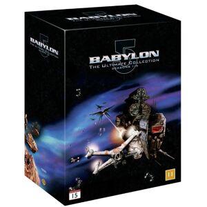 Babylon 5: Complete Box Sæson 1-5 DVD