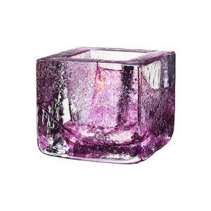 Kosta Boda Brick Kynttilälyhty violetti Ø 8,5 cm