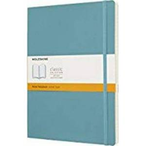 Moleskine Reef Blue Notebook Extra Large Ruled Soft by Moleskine
