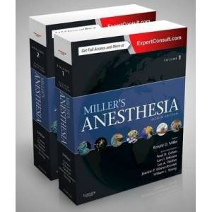 Miller's Anesthesia, 2-Volume Set by Ronald Miller