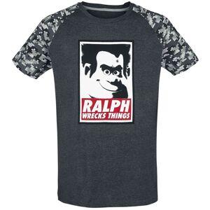 Ralph reichts 2 - Wreck Face T-paita Sävytetty harmaa/digi-camo