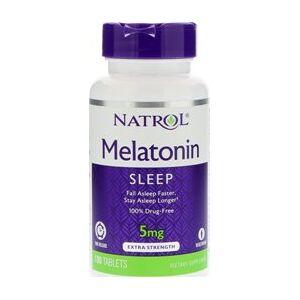 vitanatural melatonini tr 5mg time release 100 tablettia