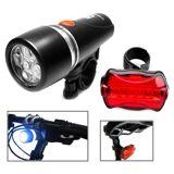 Tarvike LED vedenpitävä polkupyörän ajovalo ja takavalo