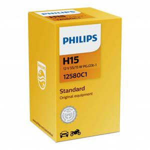 Philips Halogeenipolttimo Philips H15, 12V, 55/15W