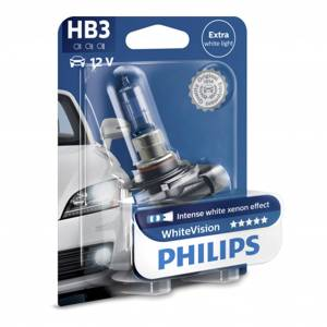 Philips Halogeenipolttimo PHILIPS WHITE Vision, 65W, HB3