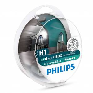 Philips Halogeenipolttimo PHILIPS X-TremeVision +130%, 55W, H1