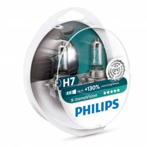 Philips Halogeenipolttimo PHILIPS X-TremeVision +130%, 55W, H7
