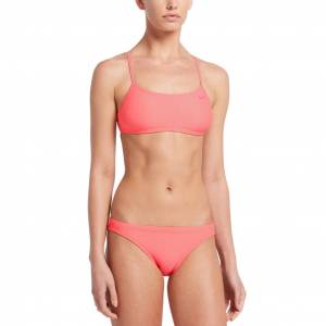 Nike Solid raceback bikini set w